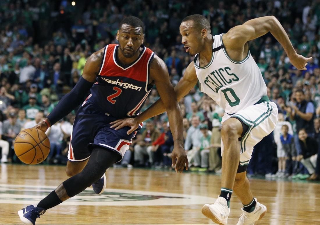Celtics blow out Wizards 123-101