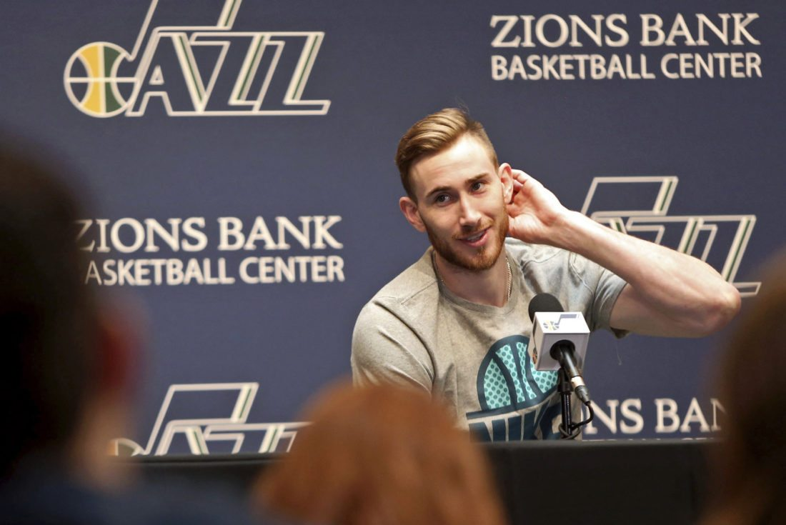 Joe Ingles on Gordon Hayward: 'I Might Take His Number'