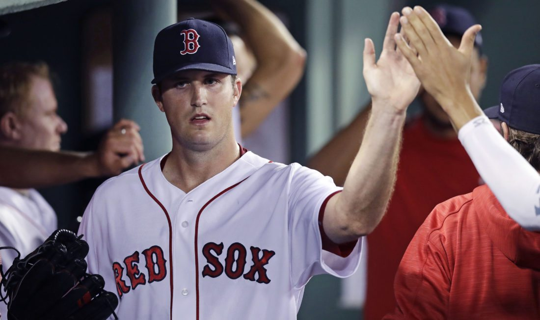 Red Sox Take Win After Late-Night Homer