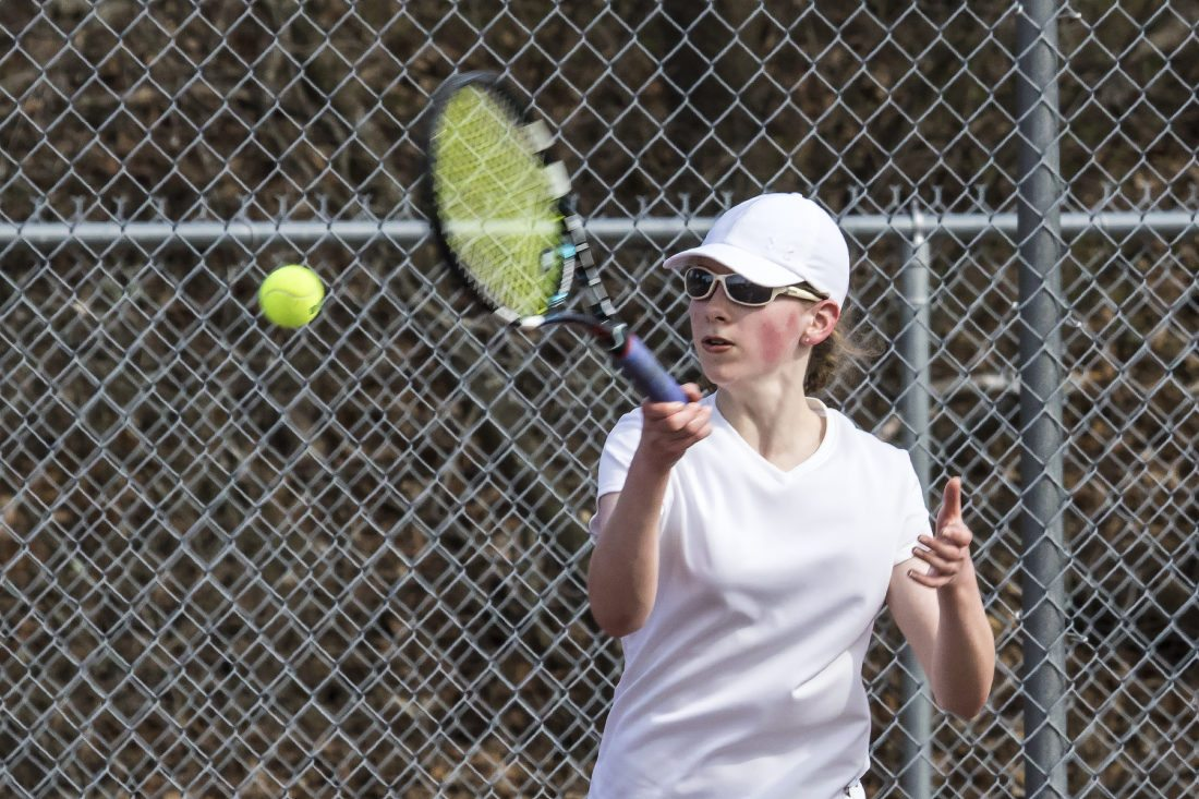 Cards Hope To Take The Next Step In Girls Tennis News Sports