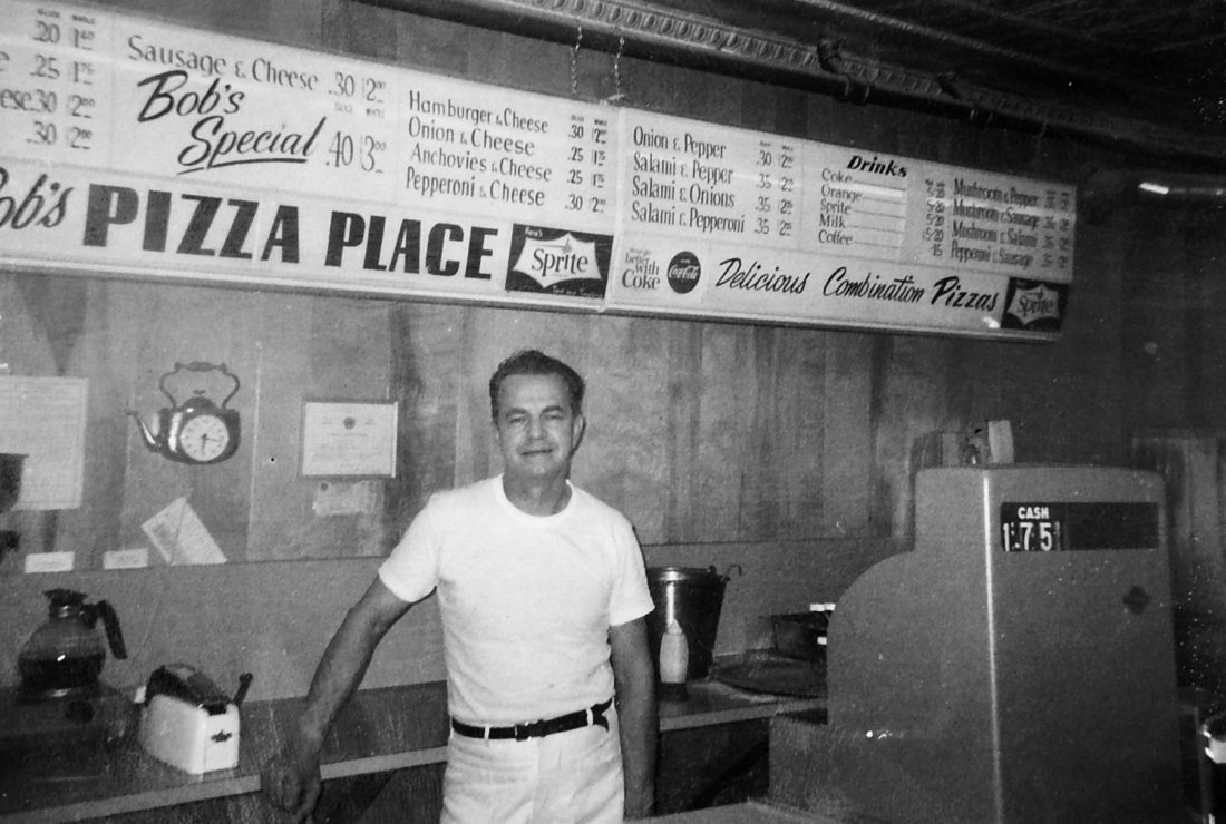 Courtesy Photo The Late Bob Kerouac, Who Founded Nashua Icon Bobu0027s Pizza In  1965, Stands At The Counter Of The First Store On Temple Street In The Late  ...
