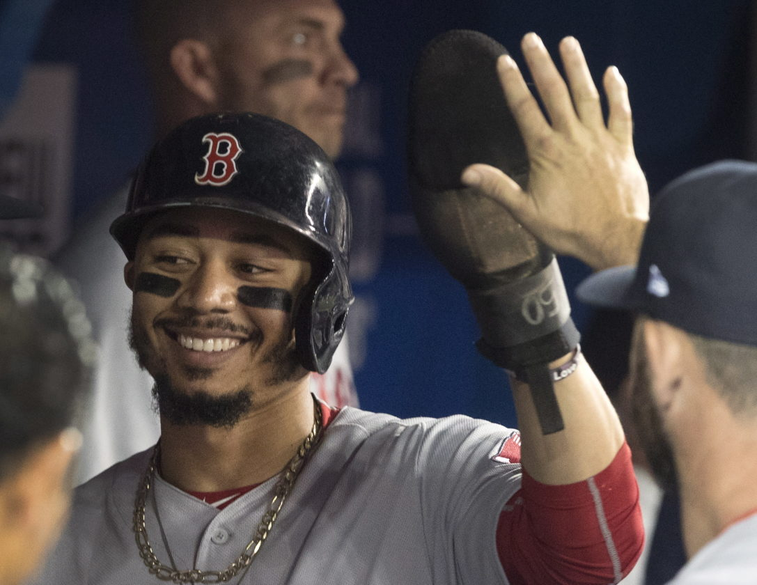 Mookie Hits For Cycle In Sox Loss