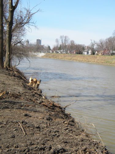 Local officials hope the Maumee River, pictured here, will look cleaner with help from a variety of water quality-improvement projects funded through a Great Lakes Restoration Initiative grant announced Tuesday. (News-Sentinel file photo)