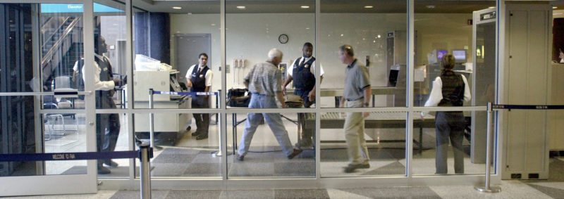Fort Wayne International Airport travelers now must put electronics larger than a cell phone into a tray to be X-rayed, just like they have for laptops. (News-Sentinel file photo)