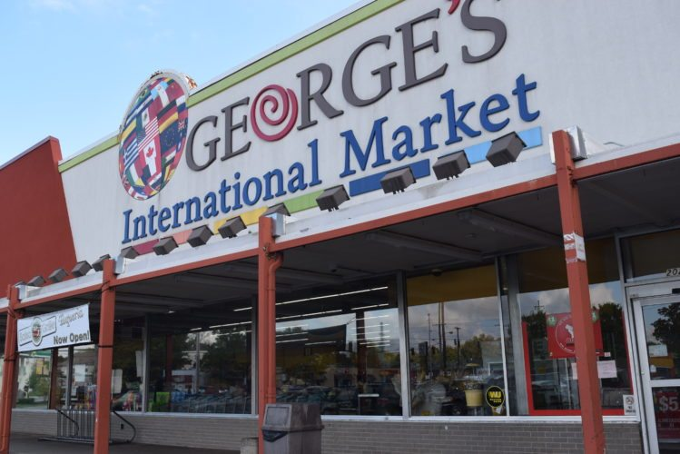 George Rongos started George's International Market in a small space on Taylor Street to sell the European foods that many living in Fort Wayne would travel to buy in Chicago or Detroit, his family says.  (Photo by Lisa M. Esquivel Long of The News-Sentinel)