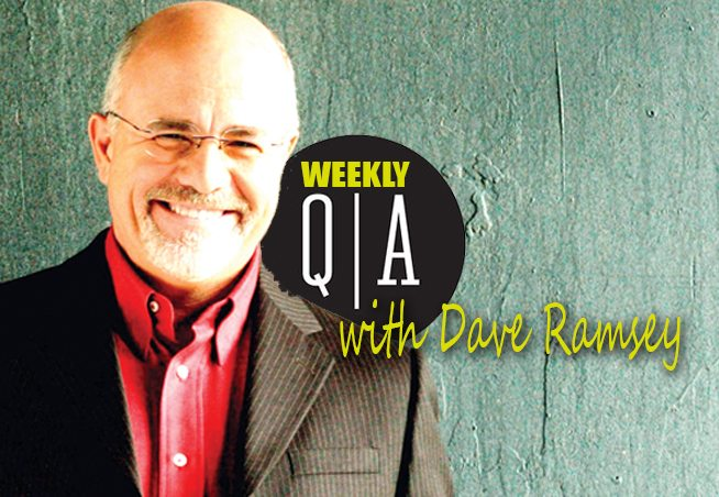 dave ramsey new