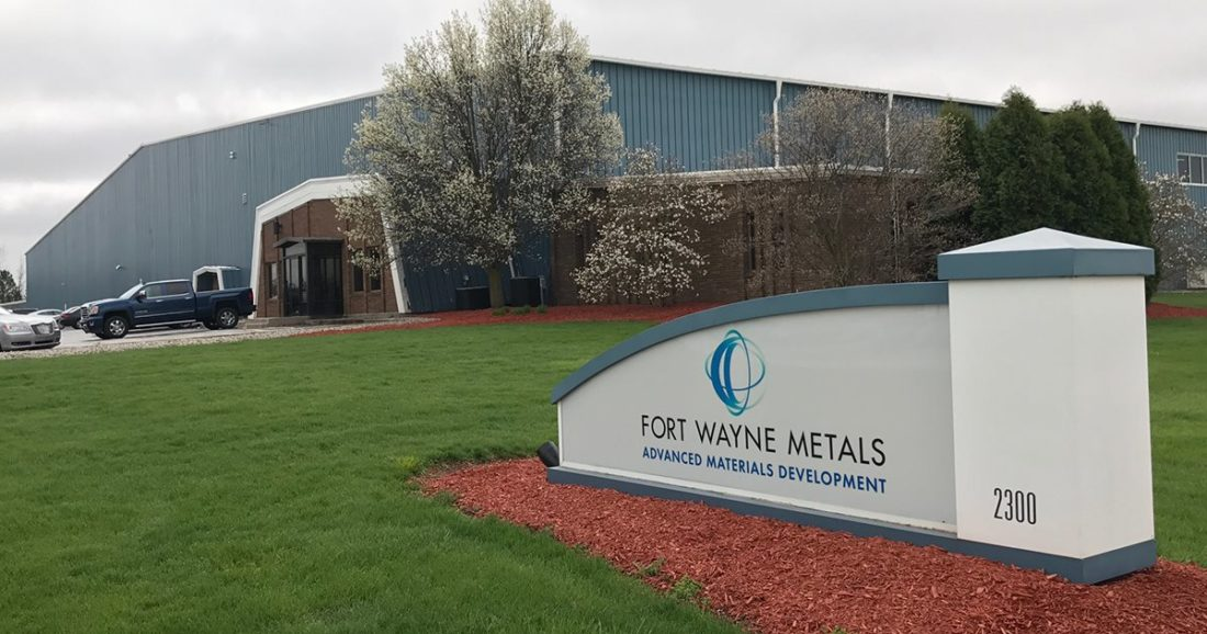 Fort Wayne Metals plans a $51 million expansion and renovation over the next five years, which could add up to 337 new jobs, Greater Fort Wayne announced Wednesday. (Courtesy of Fort Wayne Metals)