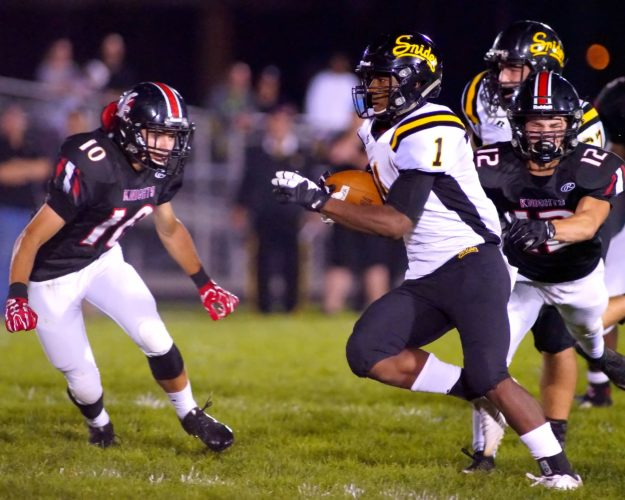 Christian Covington is one of the top senior running backs in the state. Does Snider have enough to advance deep in 6A? (News-Sentinel file photo)
