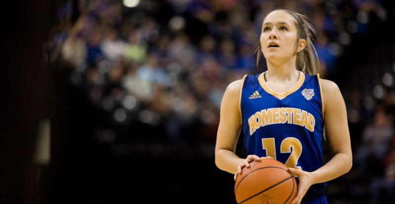 2,586 points - Karissa McLaughlin of Homestead High School (2017)