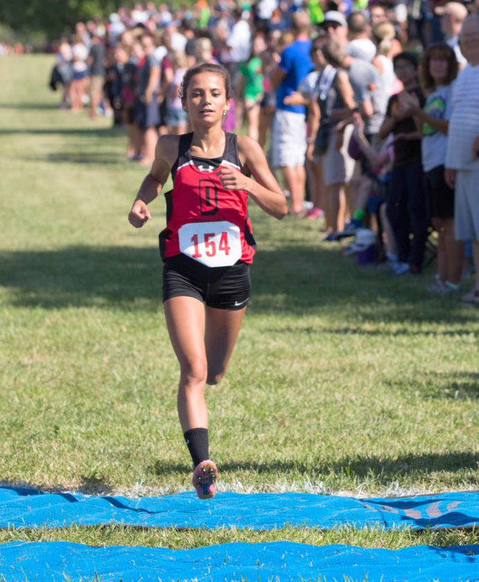 DeKalb's Tyler Schwartz will try to repeat as girls state cross country champion on Saturday. (news-sentinel.com file photo)