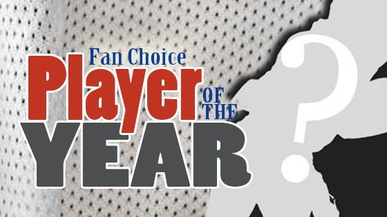 FAN CHOICE Player of the year