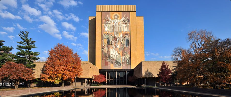 The University of Notre Dame has notified employees and students it will end no-cost contraceptive coverage as part of its health insurance plans. (Courtesy photo)