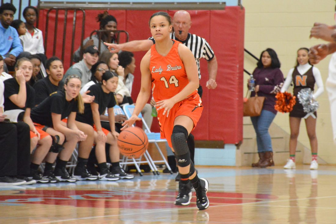 Northrop's Arielle Thatcher is coming off a season where she was named to the News-Sentinel All-Area team. (Photo by Dan Vance of news-sentinel.com)