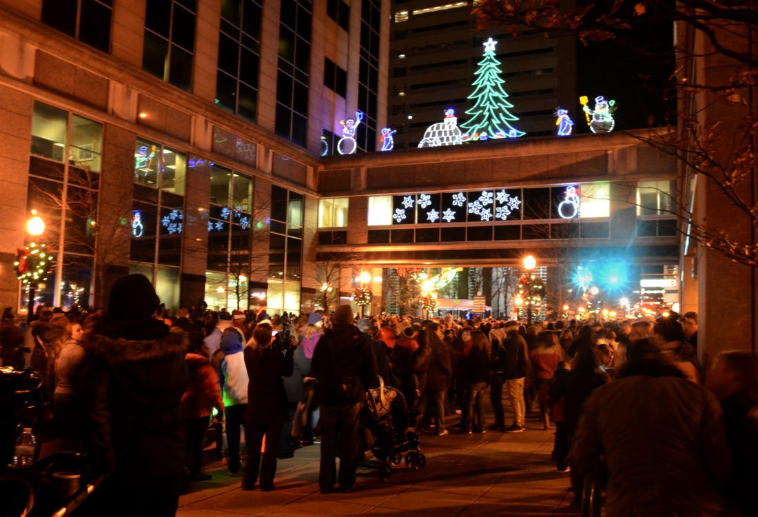 The Downtown Improvement District announced the schedule for the annual Night of Lights, which takes place this year on Nov. 22. (News-Sentinel.com file photo)