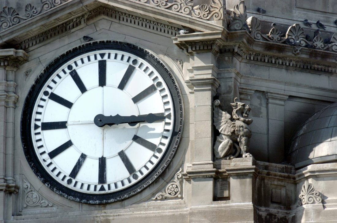 Time stands still for no one, so turn your clock back an hour before the time change just before 2 a.m. Sunday. (News-Sentinel.com file photo)