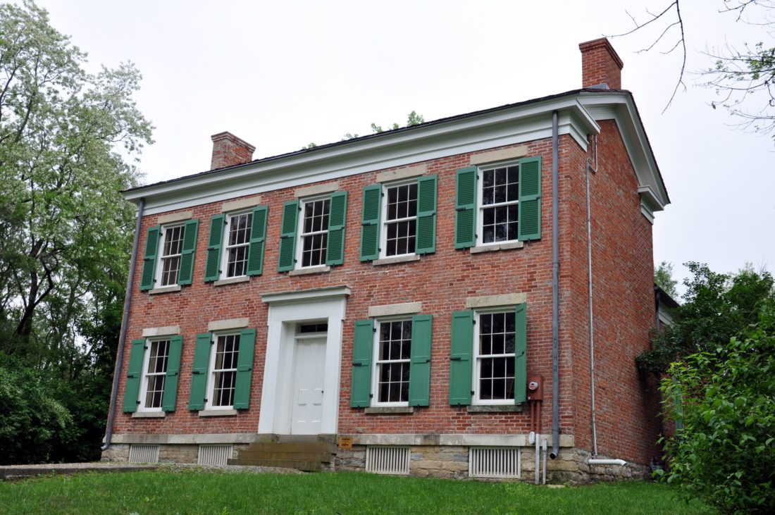 This 2011 photo shows the historic Chief Richardville House, which will be the site of Trading Post events Saturday and Sunday in Fort Wayne. (News-Sentinel.com)