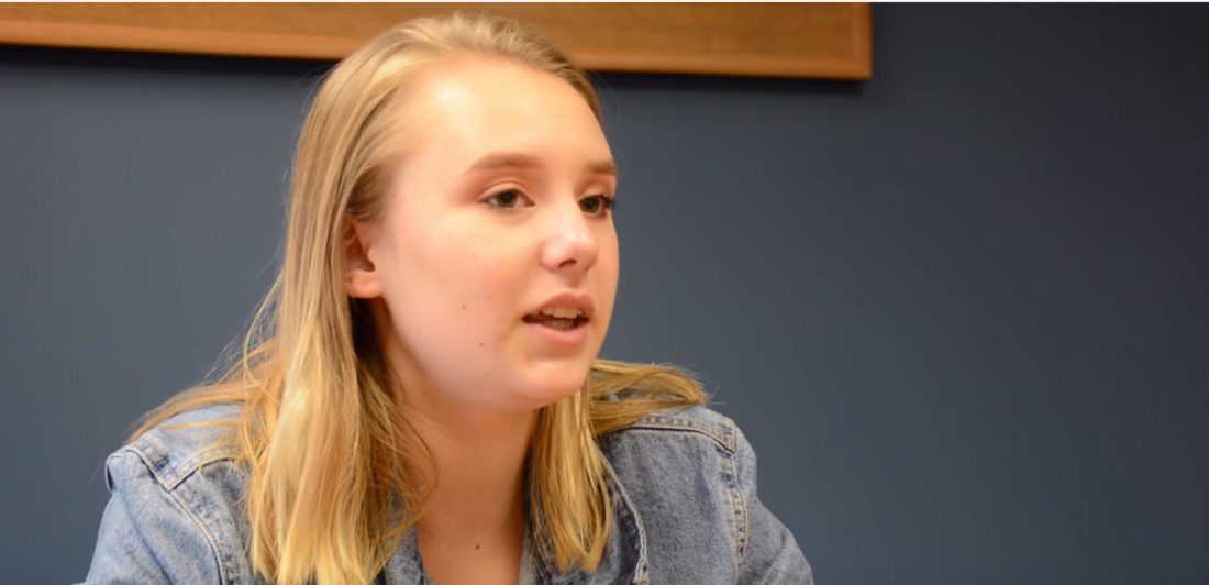Addison Agen talks about plans for her new album during a recent interview with News-Sentinel.com. (By Dan Vance of News-Sentinel.com)