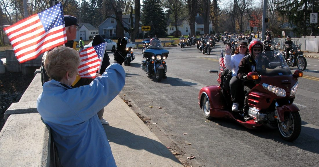 This year's Veterans Day Parade will take place Saturday, which is Veterans Day, at 11 a.m. on Parnell Avenue from State Boulevard to Memorial Coliseum. (News-Sentinel.com file photo)