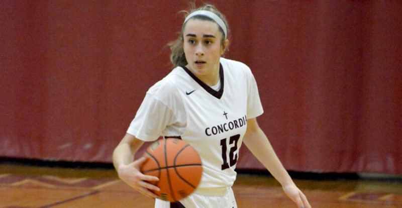Concordia Lutheran junior Carissa Garcia has taken on the leadership role for the Cadets. (Photo by Dan Vance of news-sentinel.com)