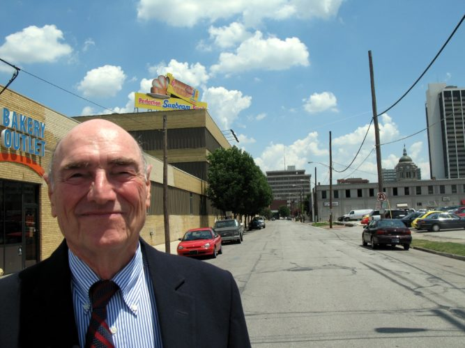 John Popp, president of Aunt Millie's Bakeries, failed in his effort make the local bakery more efficient by closing Pearl Street years ago -- and now the facility will close. (File photo by Kevin Leininger of News-Sentinel.com)