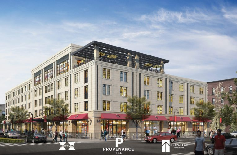 """The Redevelopment  Commission has begun the process of bringing a $27 million """"boutique"""" hotel to downtown Fort Wayne. (Courtesy image)"""