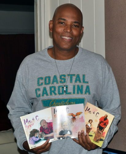 South Side High School boys basketball coach J.J. Foster has found success on the court, but he also has started writing children's books. (By Blake Sebring of News-Sentinel.com)