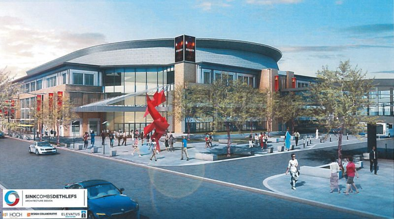The multi-purpose event center/arena plan for downtown Fort Wayne has been shelved by Mayor Tom Henry. (File illustration)