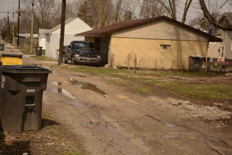 Help is on the way for Fort Wayne alleys like this one. (News-Sentinel file photo)