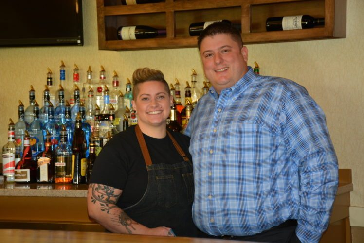 Rack & Helen's Social Club's corporate executive chef Maria Wunderlin and owner Wes Anderson have revised the menu in the newly renamed restaurant. (Photo by Lisa M. Esquivel Long of News-Sentinel.com)