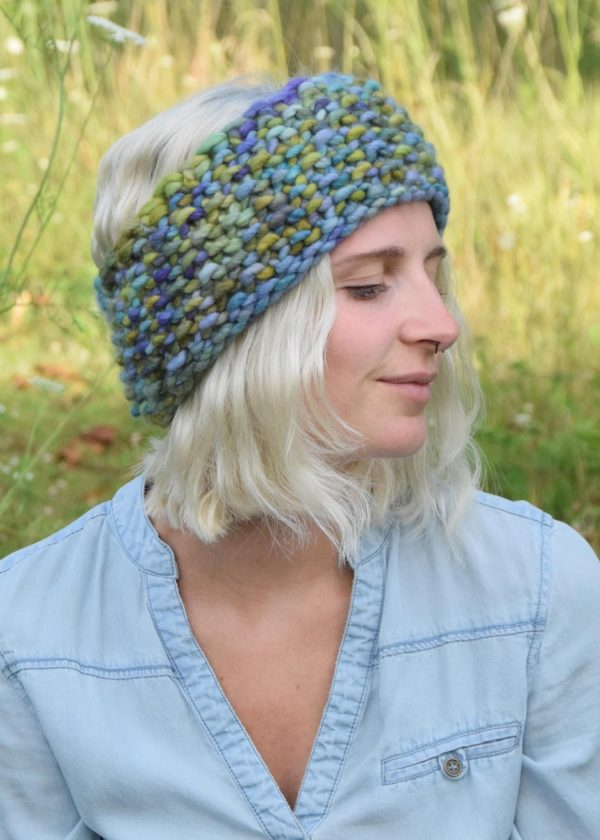 Hand-knitted wool hats by Bonnie will be among the items for sale at the Art Market: Winter Edition noon-7 p.m. Dec. 16 at Artlink contemporary art gallery. (Courtesy photo)