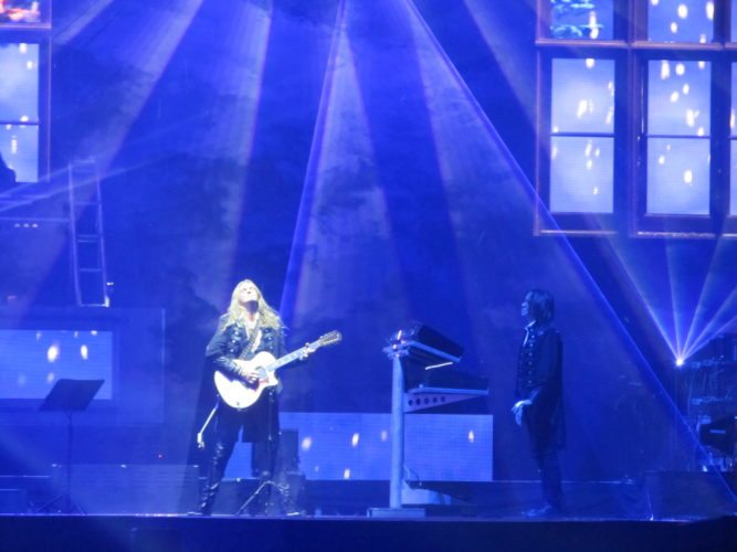 Trans-Siberian Orchestra performed Wednesday, November 29 at the Memorial Coliseum. (Photo by James Grant for The News-Sentinel)