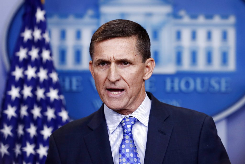 Former National Security Advisor Michael Flynn is in trouble. (Associated Press file photo)