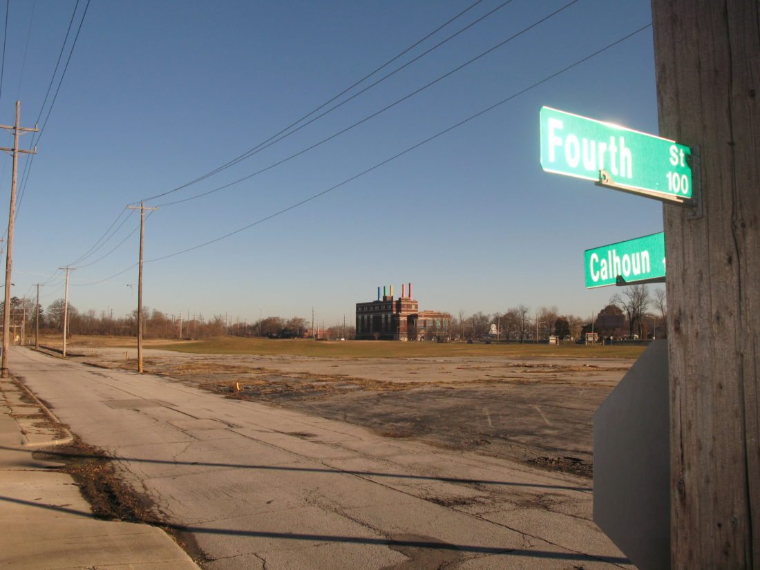 """Will the legally required change of name from Fourth Street to something like """"Rifkin Way"""" be deserved or add insult to taxpayer injury? Only time will tell.  (Photo by Kevin Leininger of news-sentinel.com)"""