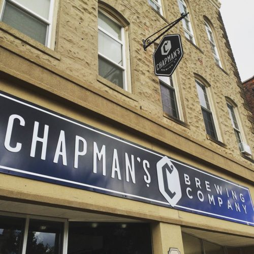 Chapman's Brewing Company has partnered with Ragin' Cajun to serve the latter's creole fare at its Columbia City taproom. (Photo courtesy of Chapman's Brewing Company)