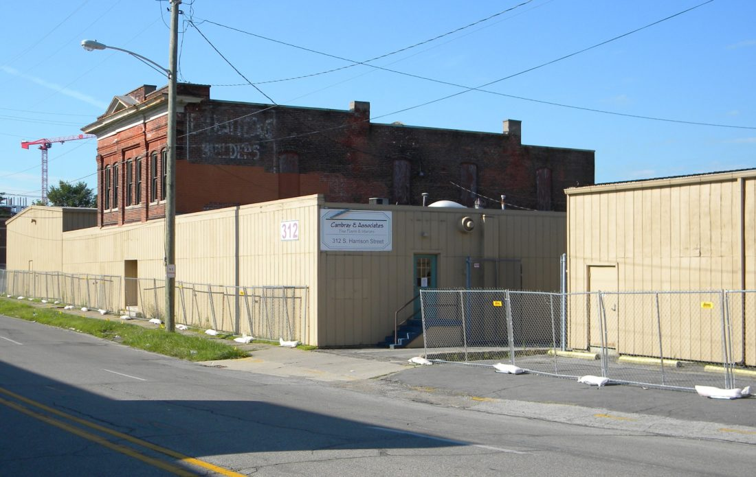 The Cambray Building at 312 S. Harrison St. is still for sale but its future is uncertain. (News-Sentinel file photo)