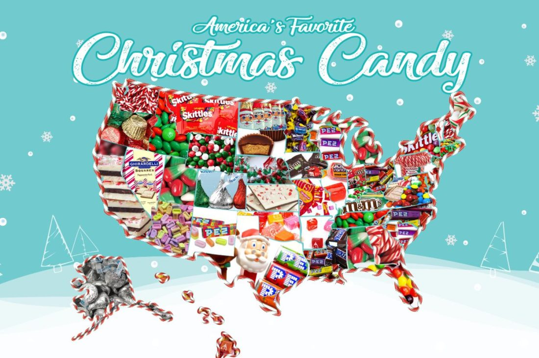 christmas candy by state