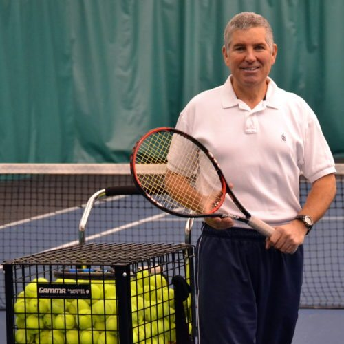 Long-time Fort Wayne tennis teaching pro Don Offerle passed away Tuesday afternoon. (By Blake Sebring of News-Sentinel.com)