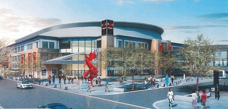 """Fort Wayne's """"momentum"""" isn't threatened by the demise of the planned downtown """"event center."""" (Courtesy image)"""