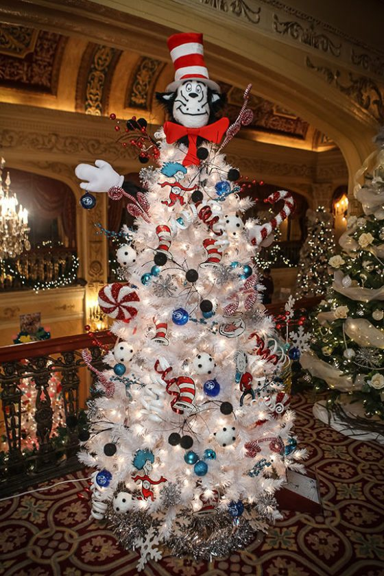 THIRD PLACE: Cat in the hat knows a lot about christmas