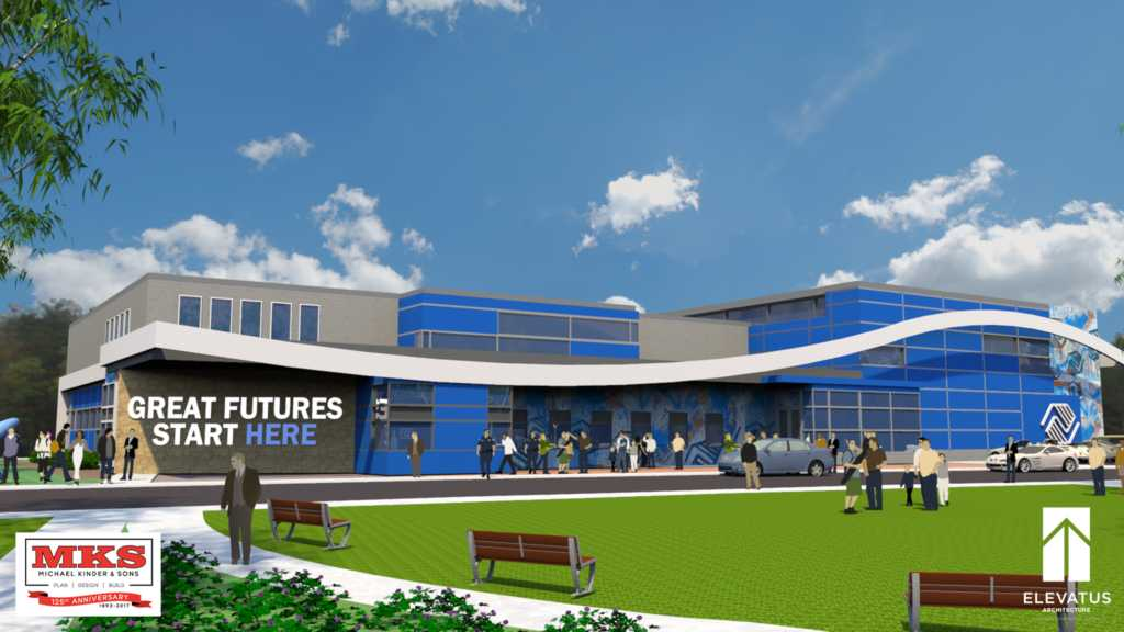 This new $7.7 million facility will replace the Boys and Girls Club building  at 2609 Fairfield Ave.
