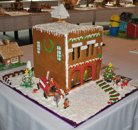 This creation by Sydney Herbst was the People's Choice award winner in the student individual category at the recent Festival of Gingerbread at The History Center. (Courtesy of The History Center)