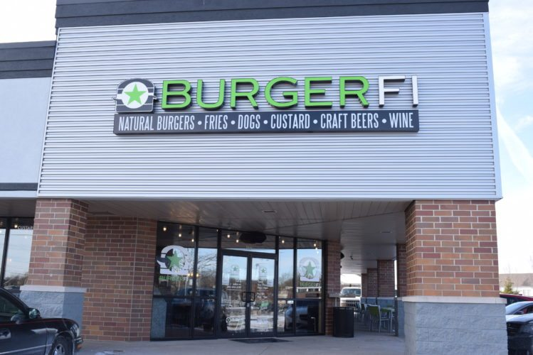 BurgerFi, which opened Monday at 7777 Coldwater Road, features beef and vegan burgers and craft ales from area breweries. (Photo by Lisa M. Esquivel Long of News-Sentinel.com)