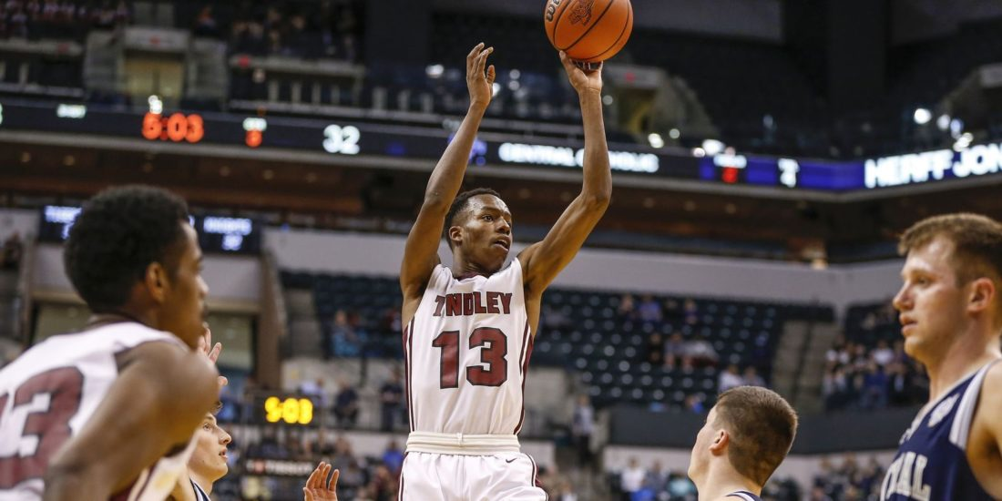 Indianapolis Tindley senior and Purdue commit Eric Hunter will be one of several standout players at the Marion Classic on Friday. (Photo courtesy of The Indianapolis Star)