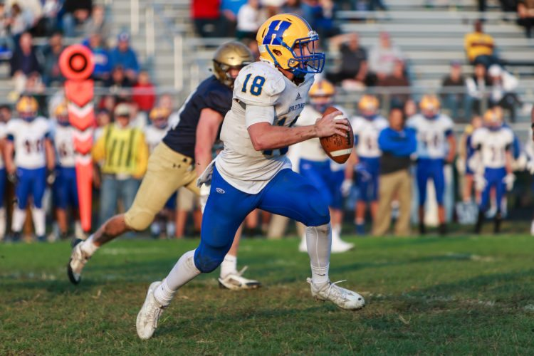 Senior Jiya Wright amassed over 3,000 yards of total offense for Homestead this past season. (News-Sentinel file photo)