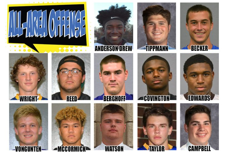 The News-Sentinel All-Area Offense.