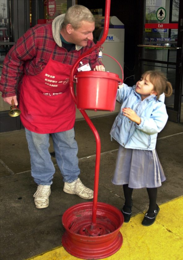 The Salvation Army needs bell ringers for Saturday. (News-Sentinel.com file photo)