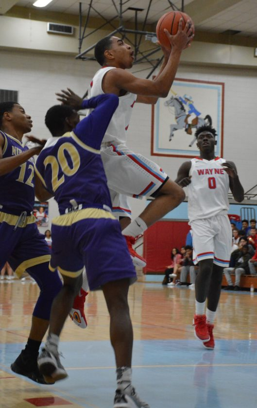 Think North Side is a heavy favorite for another SAC tournament title?  Kylon Jarreau and the Wayne Generals may have something to say about that. (By Justin  Kenny of news-sentinel.com)