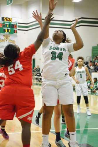 Can Taniece Chapman and the South Side Archers slay the Homestead monster?(Photo by Dan Vance of The News- Sentinel)