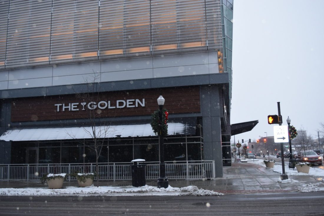 Plans are to turn the space that was The Golden into a fine-dining Latin restaurant called Proximo. (Photo by Lisa M. Esquivel Long of News-Sentinel.com)