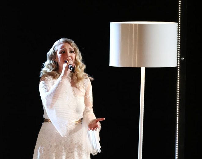 "Addison Agen, 16, of Fort Wayne, plans to pursue a career as a music artist after her runner-up finish last month on the TV show ""The Voice."" (Photo by Tyler Golden/NBC)"